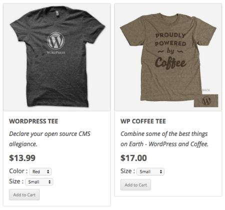WordPress Simple PayPal Shopping Cart | multiple variants