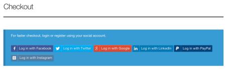 Storefront Best free WooCommerce theme   Social Login