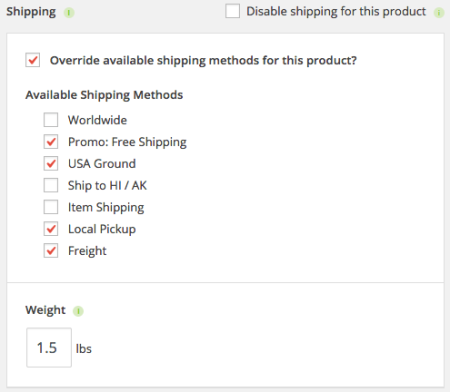 iThemes Exchange Table Rate Shipping | Override