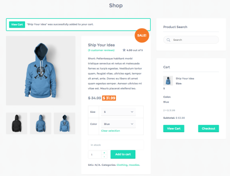 Best WooCommerce themes | Listify review: product