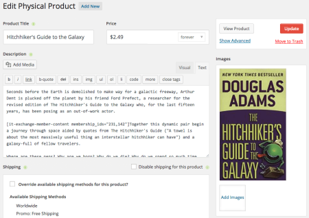 iThemes Exchange Purchasing Club: create products