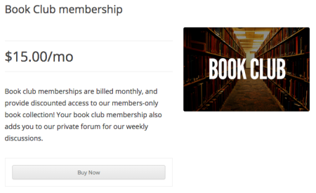 iThemes Exchange Purchasing Club: membership product