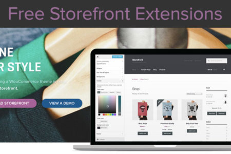free storefront extensions woocommerce