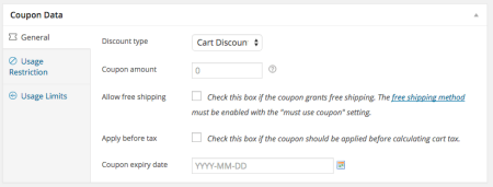 WooCommerce 2.3 Review: 2.2 coupons