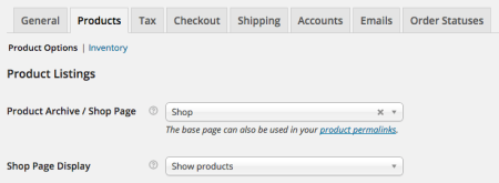 WooCommerce 2.3 Review:  2.2 product settings