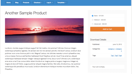 EDD Vendd Review product page