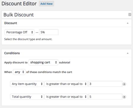 Shopp Bulk Discounts