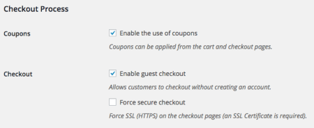 WooCommerce 2.4 Review: 2.3 checkout settings