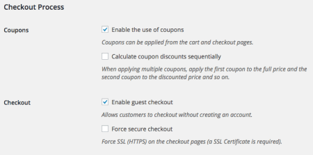 WooCommerce 2.4 Review: 2.4 checkout settings