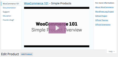 WooCommerce 2.4 Review: 2.4 help tabs