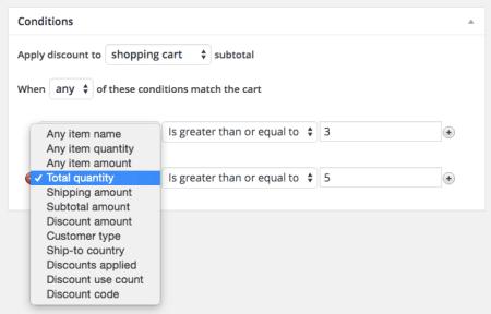 Shopp Discount Conditions