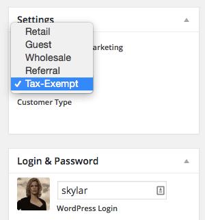 Shopp Set Customer Type