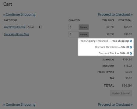 Shopp Stacked Discounts