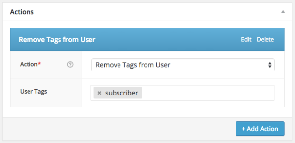 WooCommerce Subscriber Coupons: remove tags