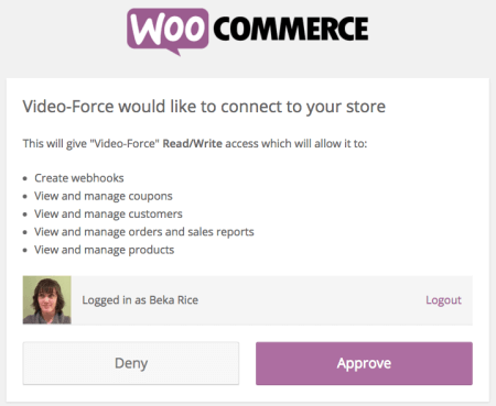 WooCommerce Shoppable Video: connect video force to your store