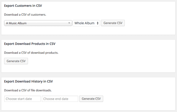 Easy Digital Downloads 2.5 Review: Export products