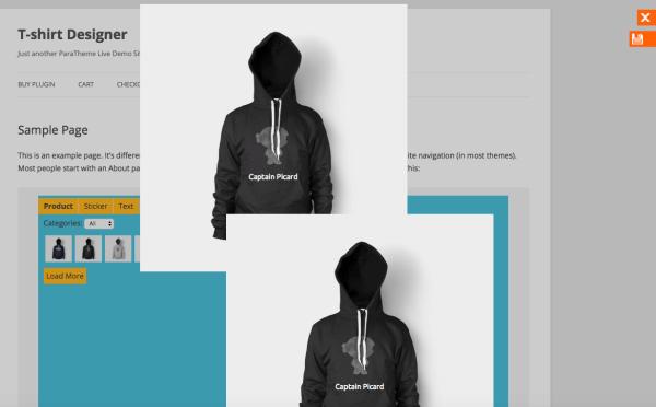 preview t-shirt designer