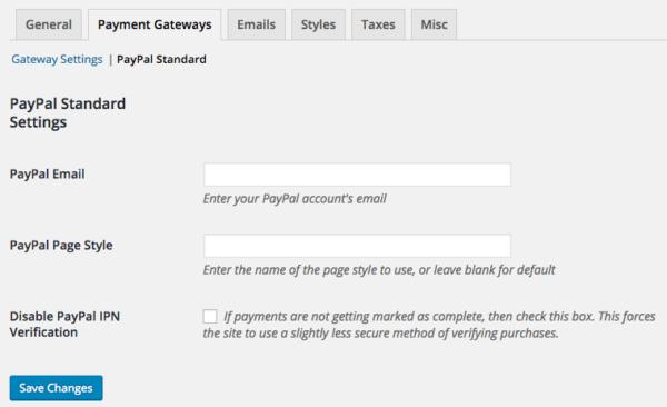 Easy Digital Downloads 2.6 Review: EDD 2.5 paypal settings