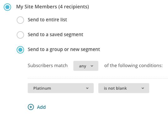 WooCommerce Memberships  email plan members