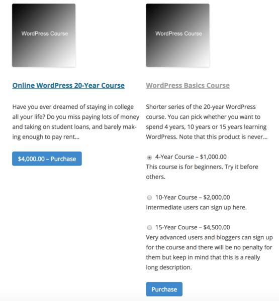 edd variable pricing descriptions additional information display