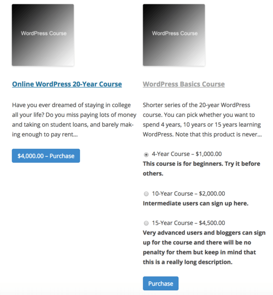 edd variable pricing descriptions css example