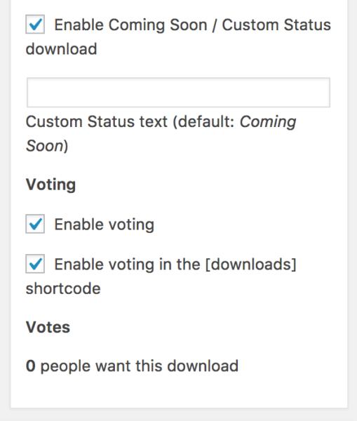 edd coming soon enable voting