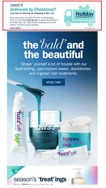 Bliss.com offer