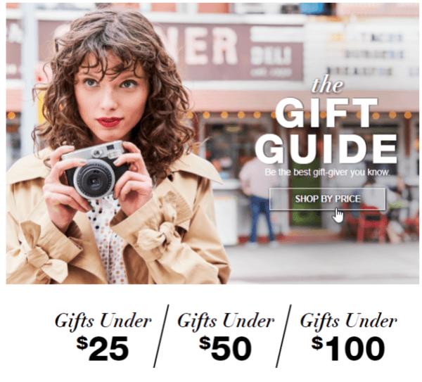 Macy's Gift Guide