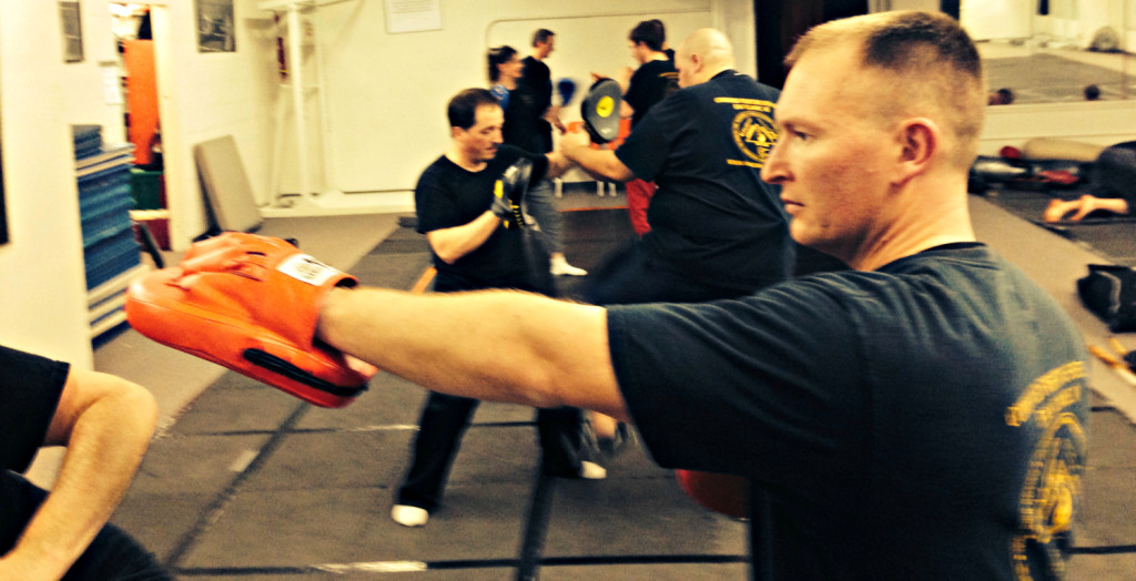 Class at Combined Fighting Systems.
