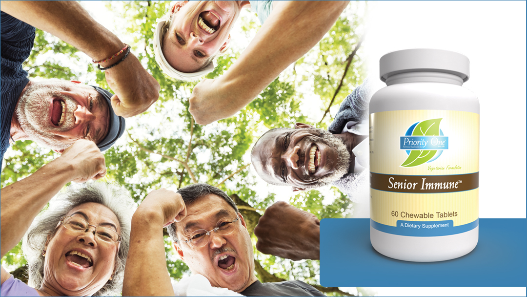 20% off of our newest product – Senior Immune!