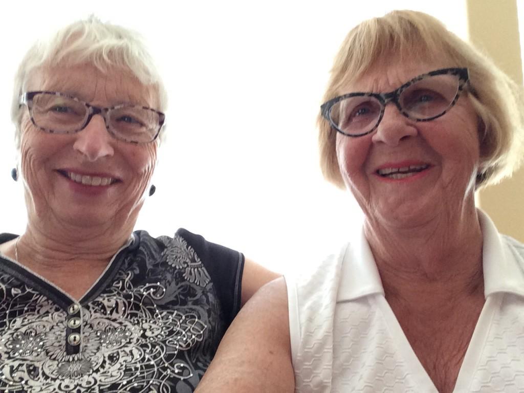 Ruth and Maureen - Home in Calgary