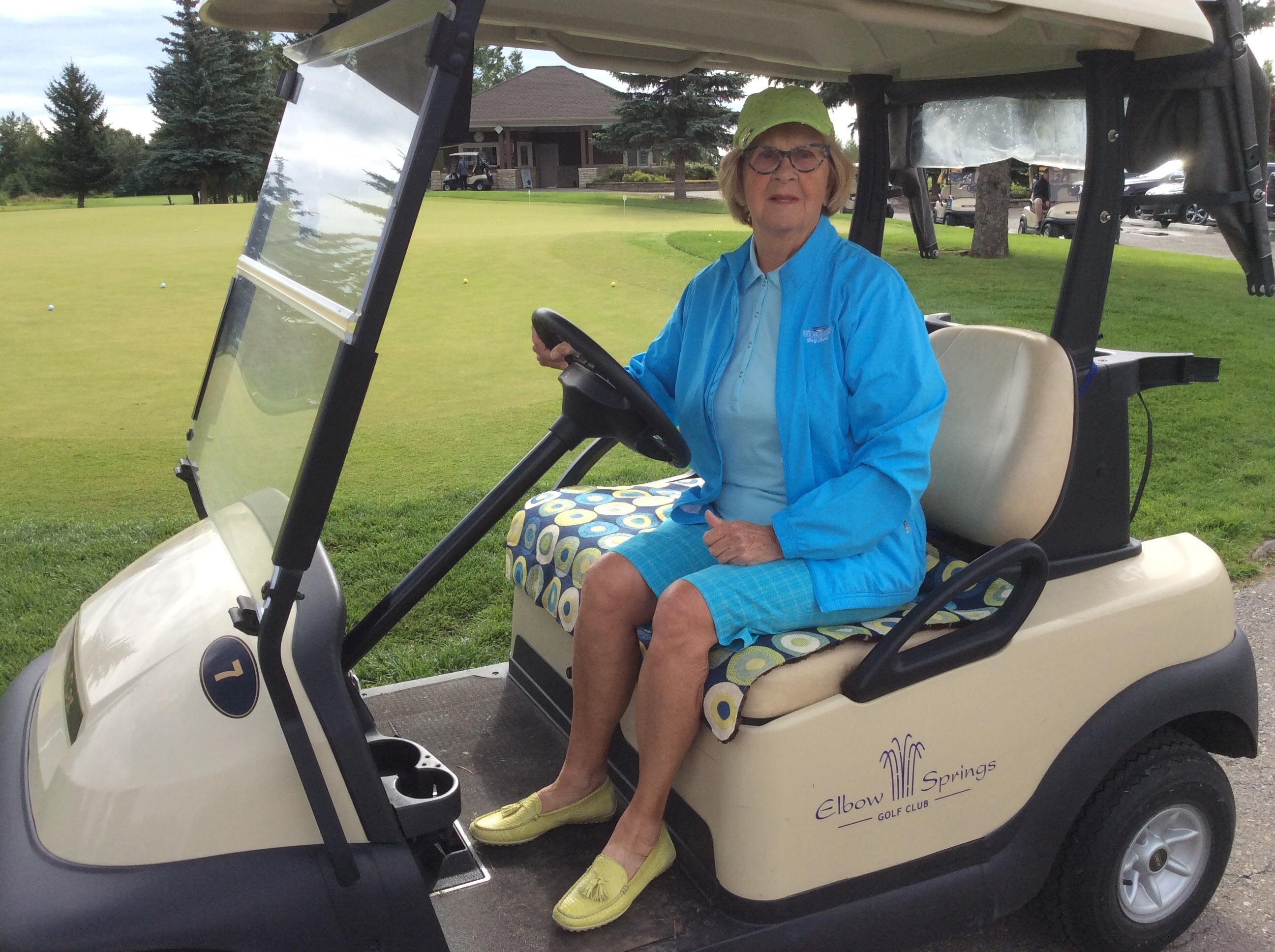 Golf Car Seat Cover