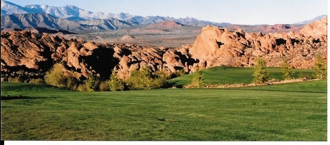 Red rocks at Sky Mountain