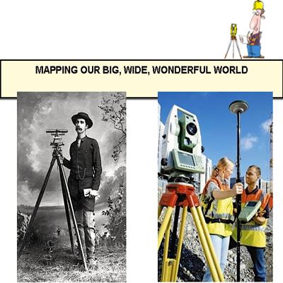 Mapping Our Big, Wide, Wonderful World