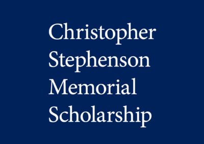 Christopher Stephenson Memorial Scholarship