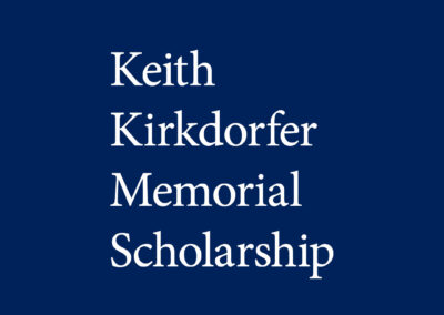 Keith Kirkdorfer Memorial Scholarship