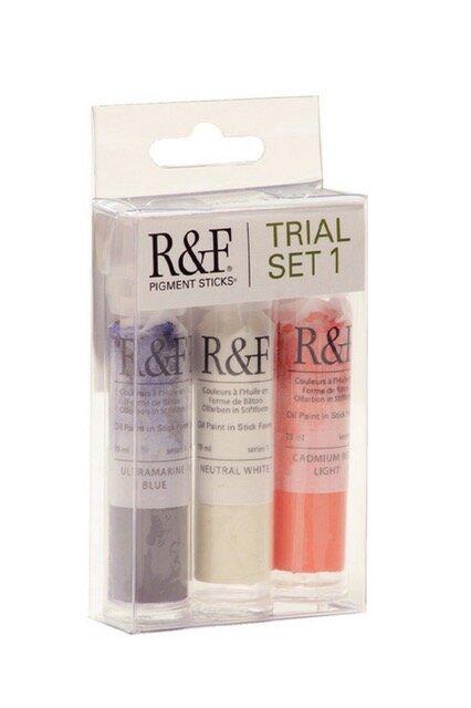 R&F Paints Pigment Sticks Oil paint Chapman and Bailey