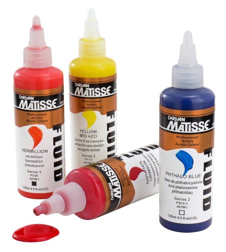 Matisse Fluid Acrylic Paint - Melbourne online store