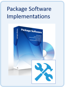 Package software implementations