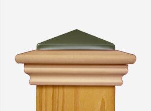 nantucket post cap west creek metal post cap