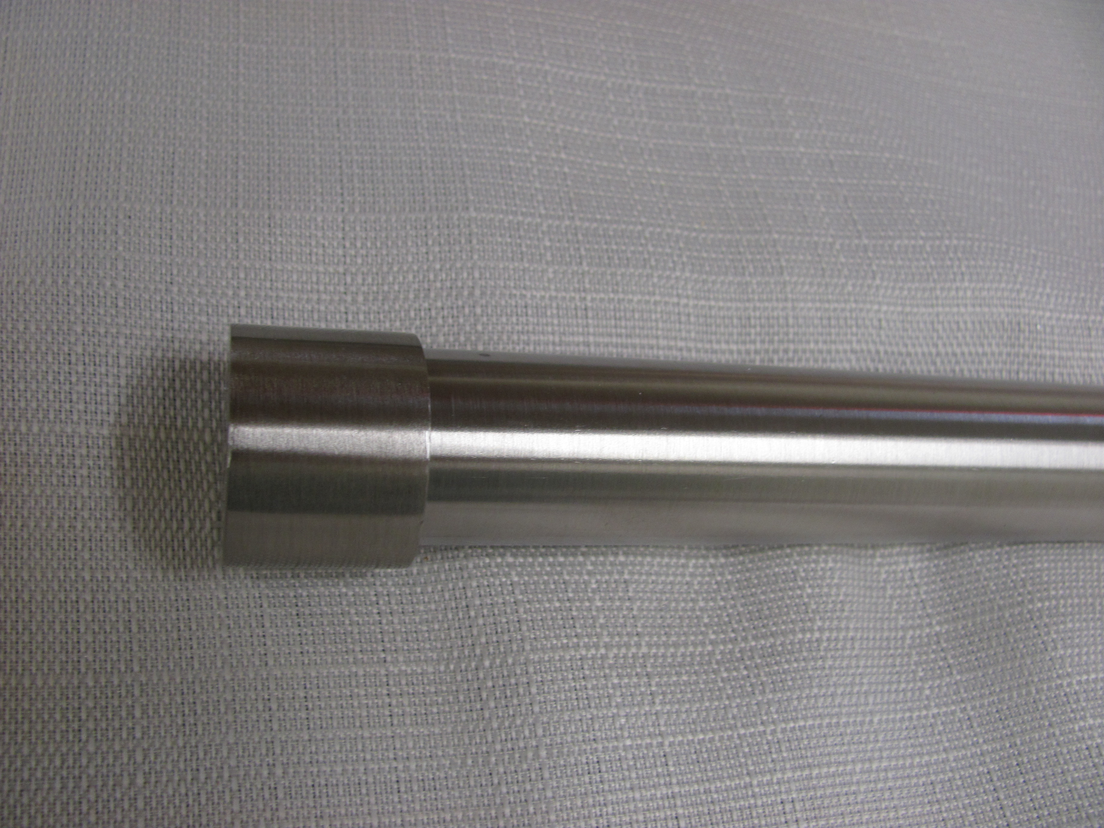 1 Inch Brushed Nickel with Brushed Nickel End Cap