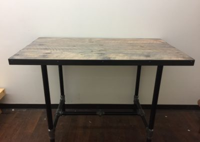 Industrial Chic Pub Table (SOLD!)