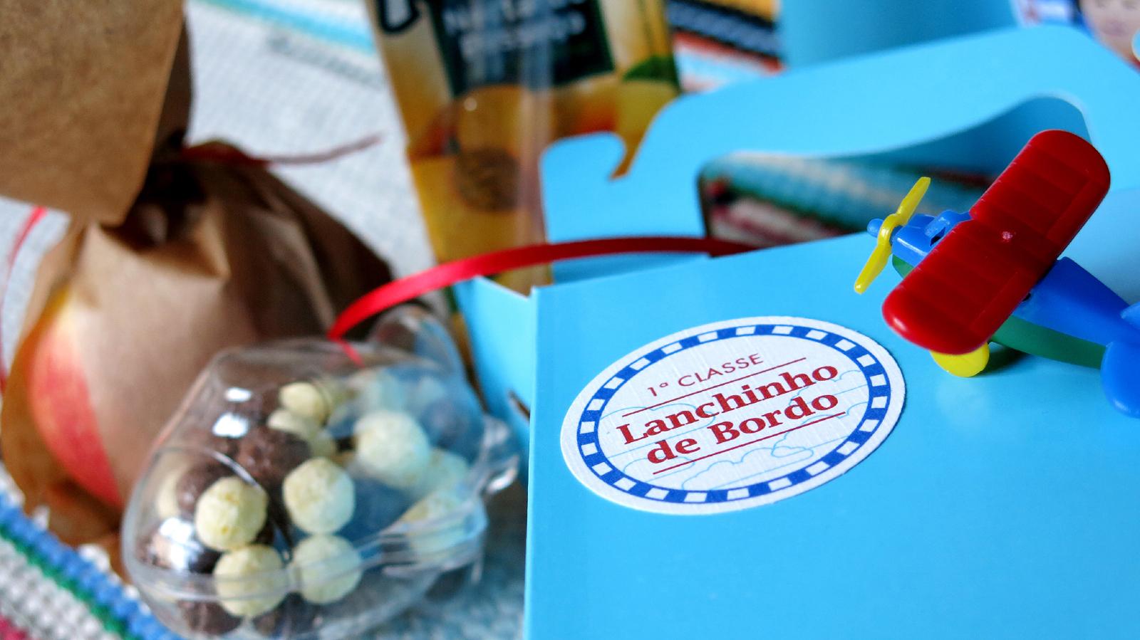 Lancheira Personalizada para Festa Infantil
