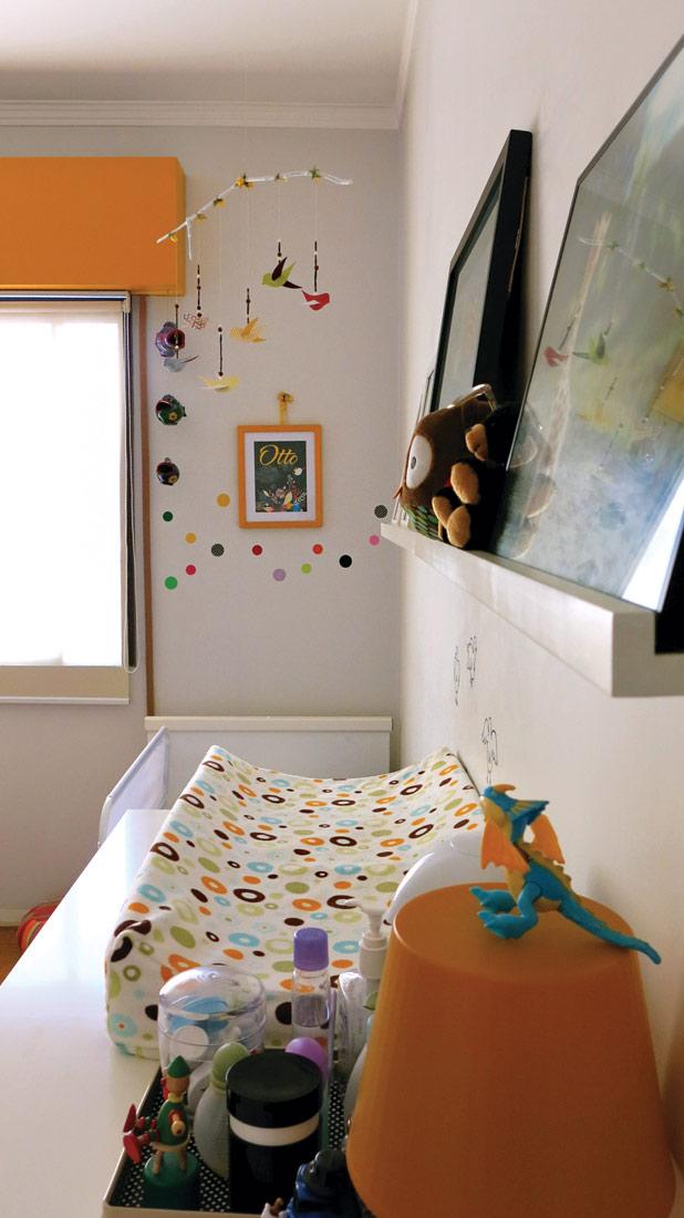 Um jeito barato de decorar o quarto do bebê