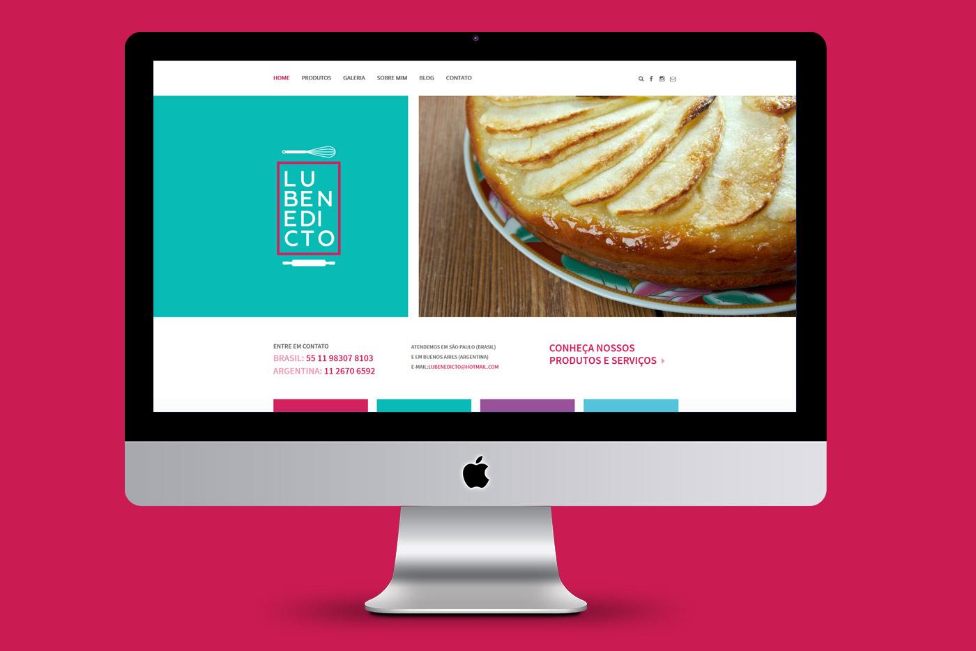 Lu Benedicto Chef Confeiteira - Identidade Visual Corporativa
