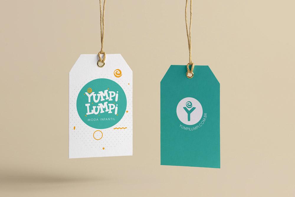Identidade Visual e Naming para Yumpi Lumpi
