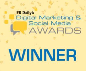 Digital Marketing and Social Media Awards Winner
