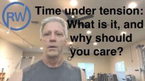 Time under tension - RichardHWebb.com