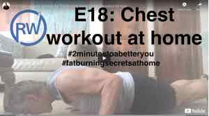 chest workout at home for #FatBurningSecretsAtHome