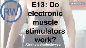 Do electronic stimulators really work? RichardHWebb.com